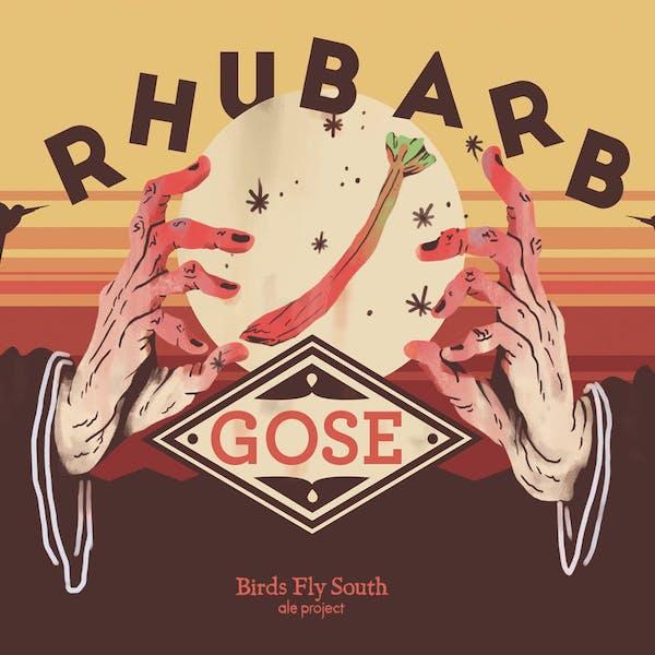 Rhubarb Gose
