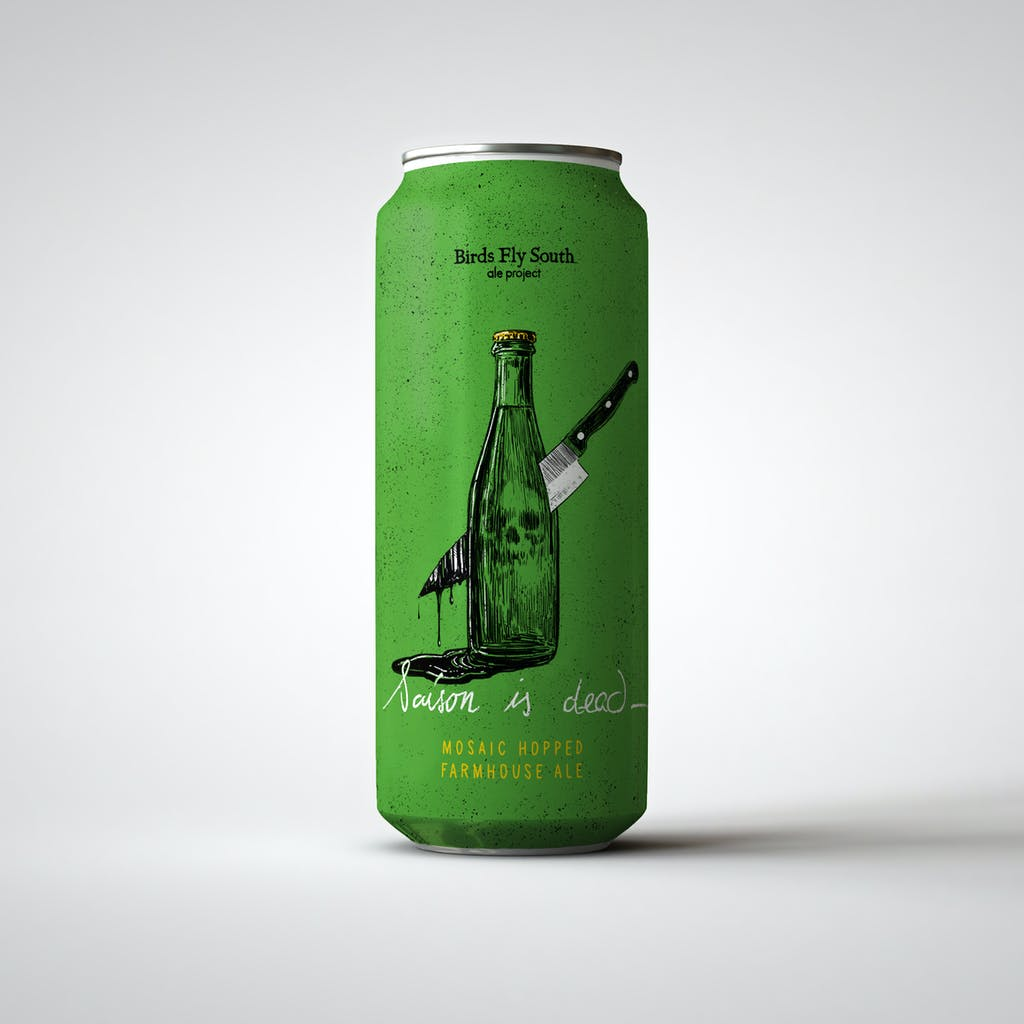 SAISON IS DEAD can mockup square