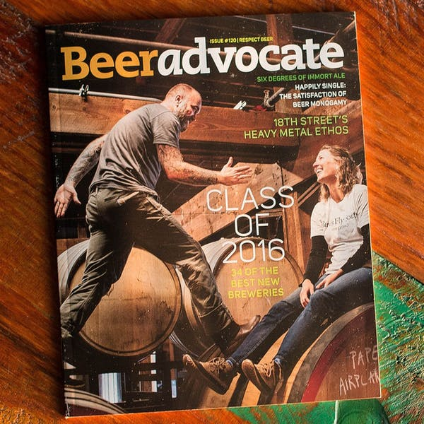 Check out our feature in Beer Advocate