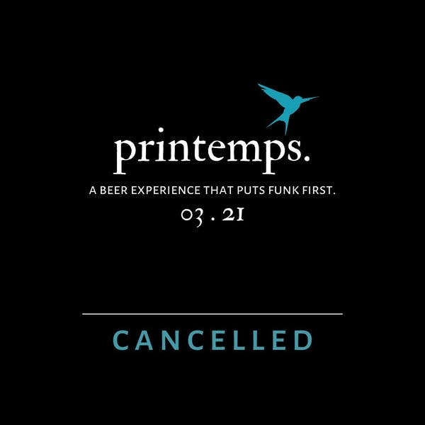 Printemps Event Cancelled Amidst Rising Coronavirus Concerns