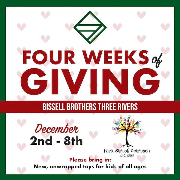 Four Weeks of Giving Week 1 – Milo