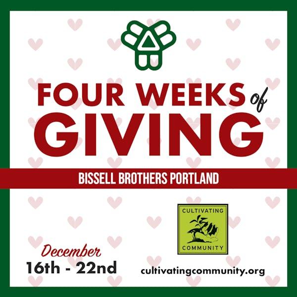 Four Weeks of Giving – Week 3 – Portland