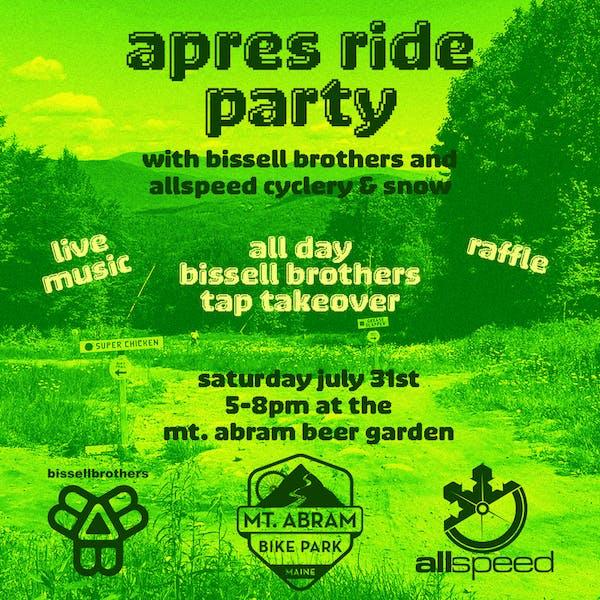 Mt. Abram Bike Park Apres Ride Party
