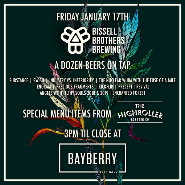Bayberry Beer Hall with Highroller Lobster Co.