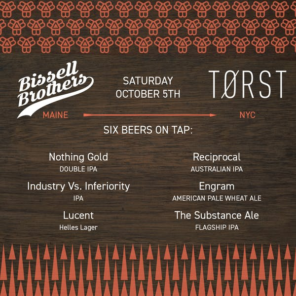 Bissell Brothers at Torst