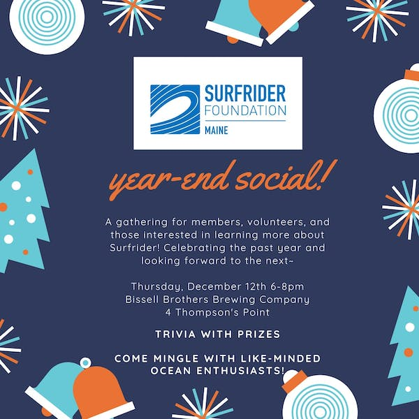 Surfrider Maine's Year End Social