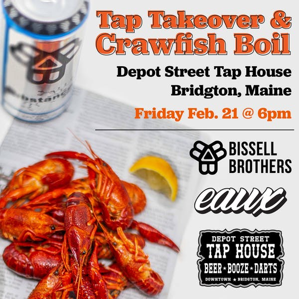 Tap takeover & Crawfish Boil with Eaux