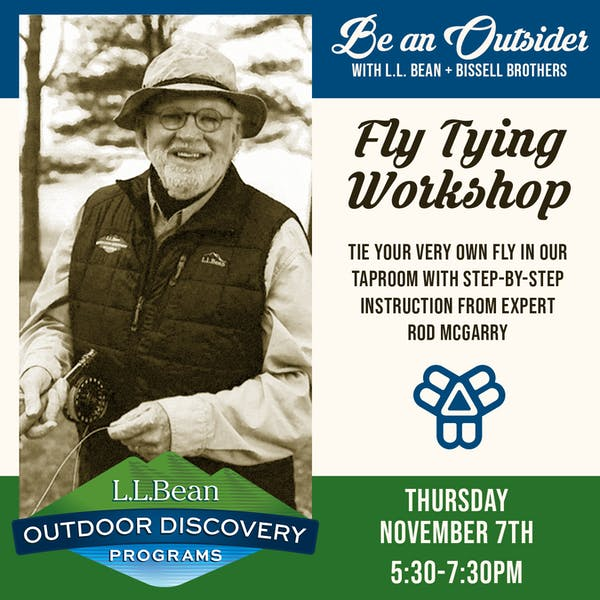 Fly Tying Workshop | Be An Outsider with Bissell Brothers & L.L. Bean