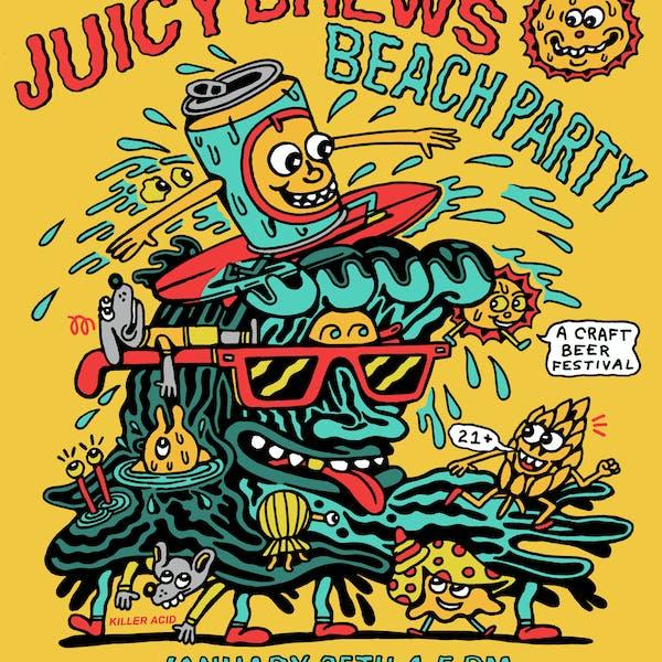Juicy Brews Beach Party