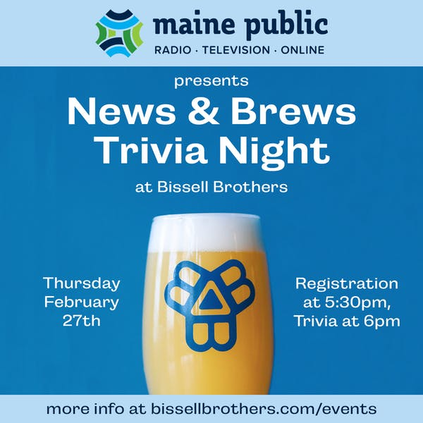 News & Brews Trivia Night with Maine Public