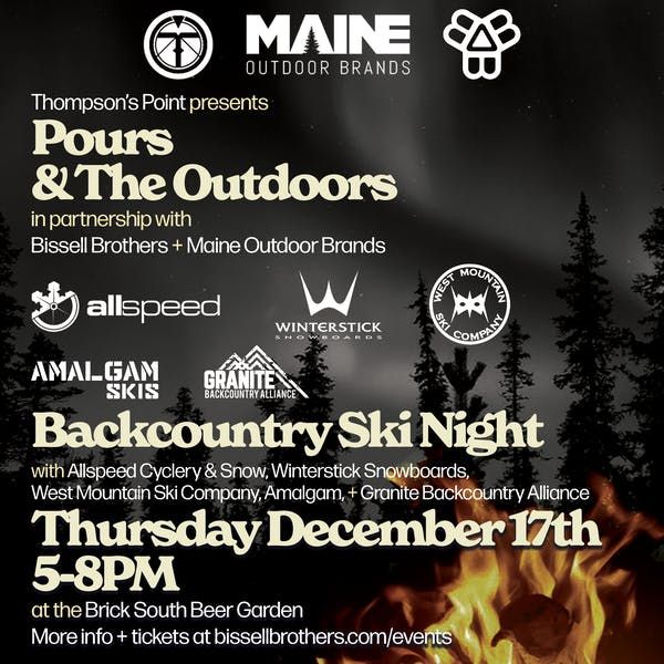 *CANCELLED* Pours & The Outdoors: Backcountry Night
