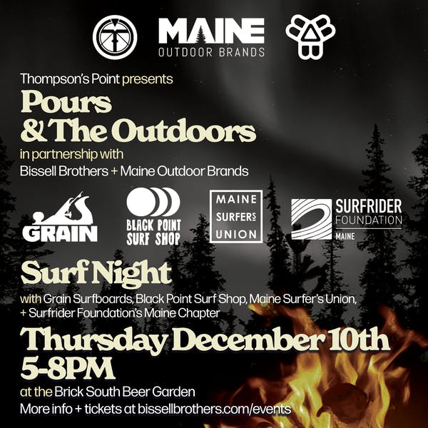 *CANCELLED* Pours & The Outdoors: Surf Night