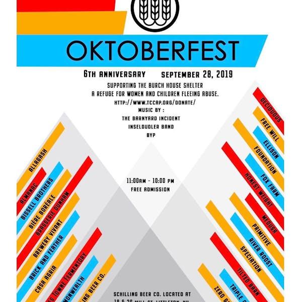 Schilling Beer Co. Oktoberfest & 6th Anniversary
