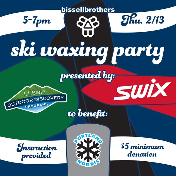 Ski Waxing Party with Swix & L.L. Bean