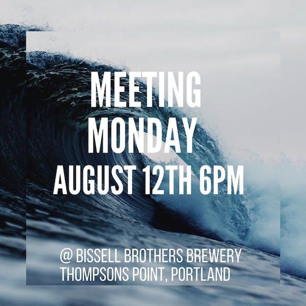 Surfrider Maine Monthly Meeting