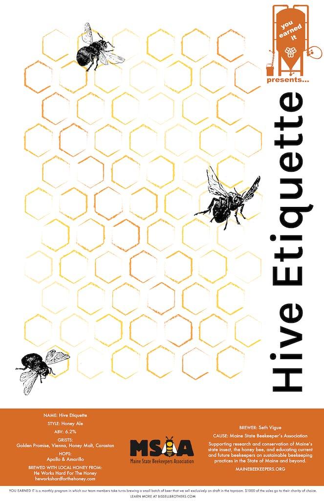 hive etiquette poster