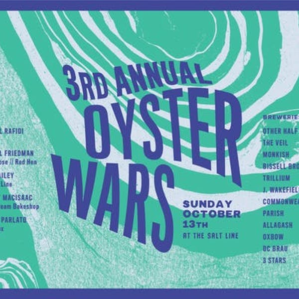 3rd Annual Oyster Wars