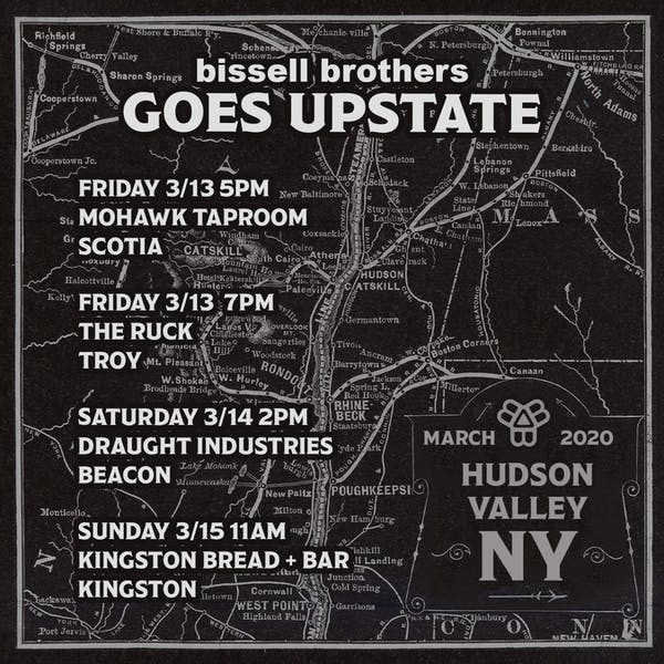 Bissell Goes Upstate