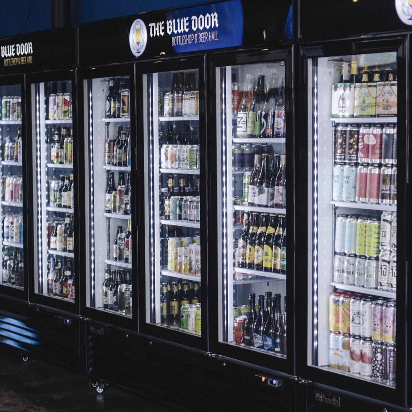 The beer selection