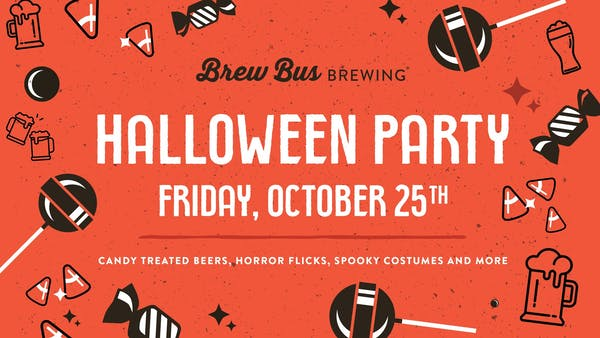 Brew Bus Halloween Party