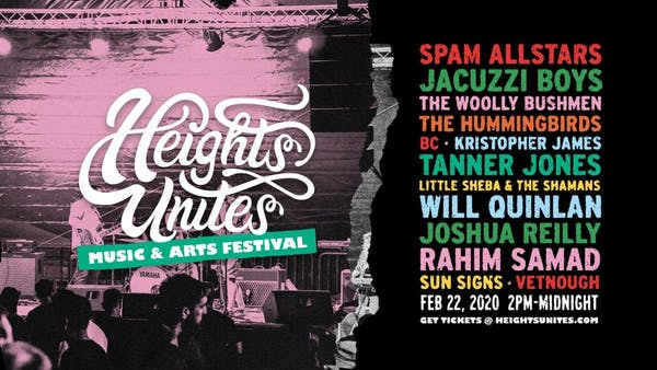 3rd Annual Heights Unites Music & Arts Festival