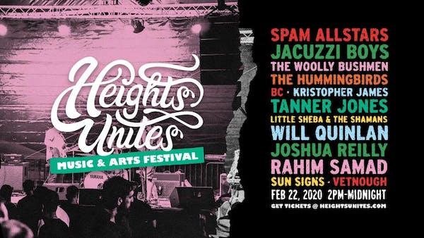 3rd Annual Heights Unites Music & Arts Festival