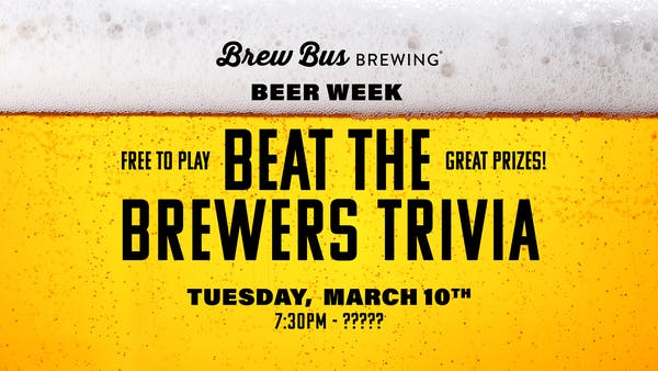 Beer Week: Beat the Brewers Trivia
