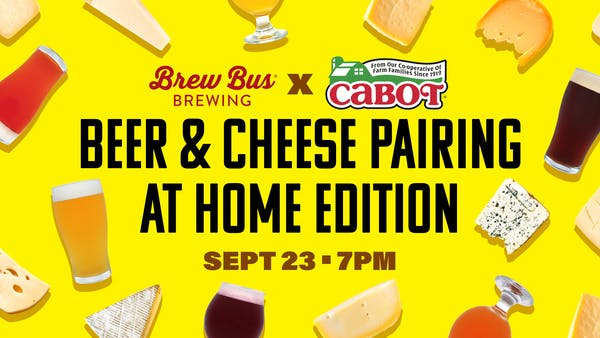 Beer & Cheese Pairing Featuring Cabot Creamery