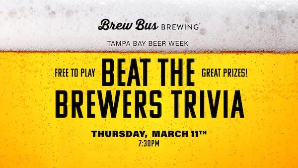 Beer Week: Beat the Brewers Trivia