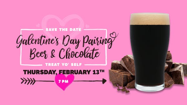 Galentine's Day Beer & Chocolate Pairing