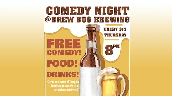 Comedy Night @ Brew Bus