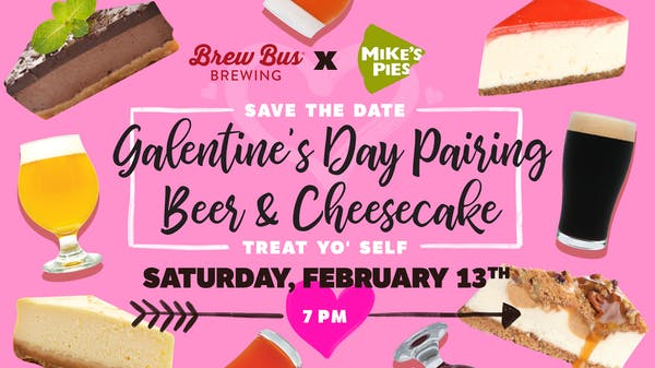 Galentine's Day Beer & Cheesecake Pairing: At Home Edition