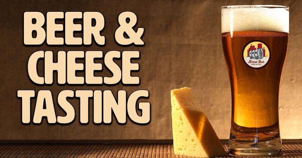 Brew Bus Brewing - Beer & Cheese Tasting