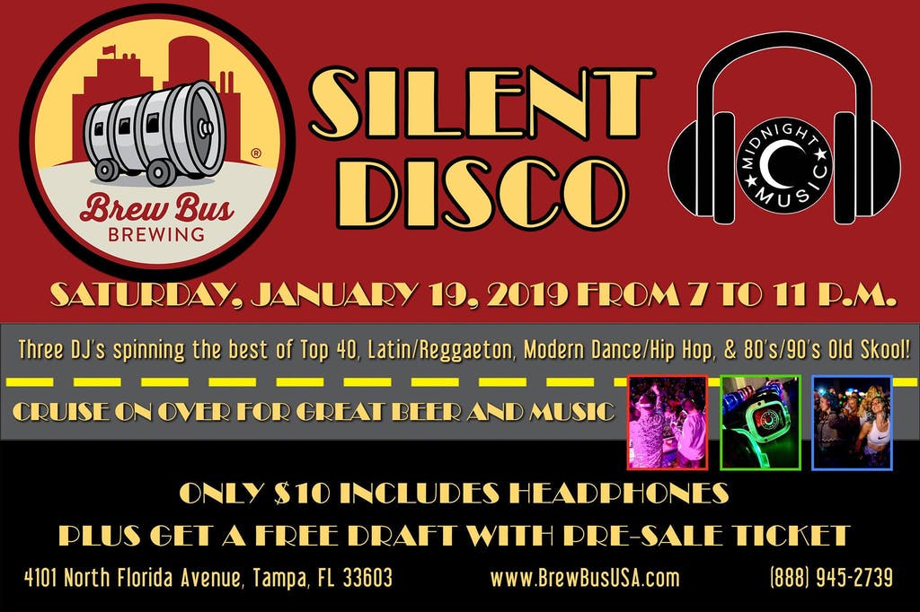 Brew Bus Brewing - Silent Disco