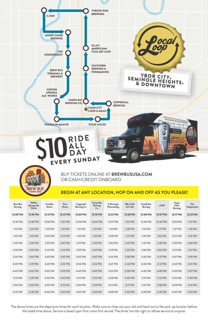 You Can Start At Any Location And Hop On Hop Off The Bus At Any Of The Stops
