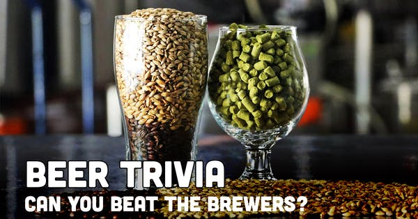 Beer Trivia: Beat The Brewers