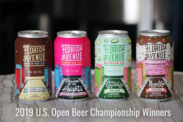 Florida Avenue Brewing Co. Places 9th in the 2019 U.S. Open Beer Championship