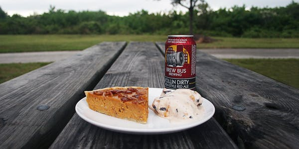 Cooking with Beer: Red Ale & Bacon Pumpkin Pie