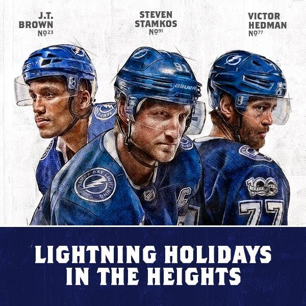 Lightning players to support Seminole Heights