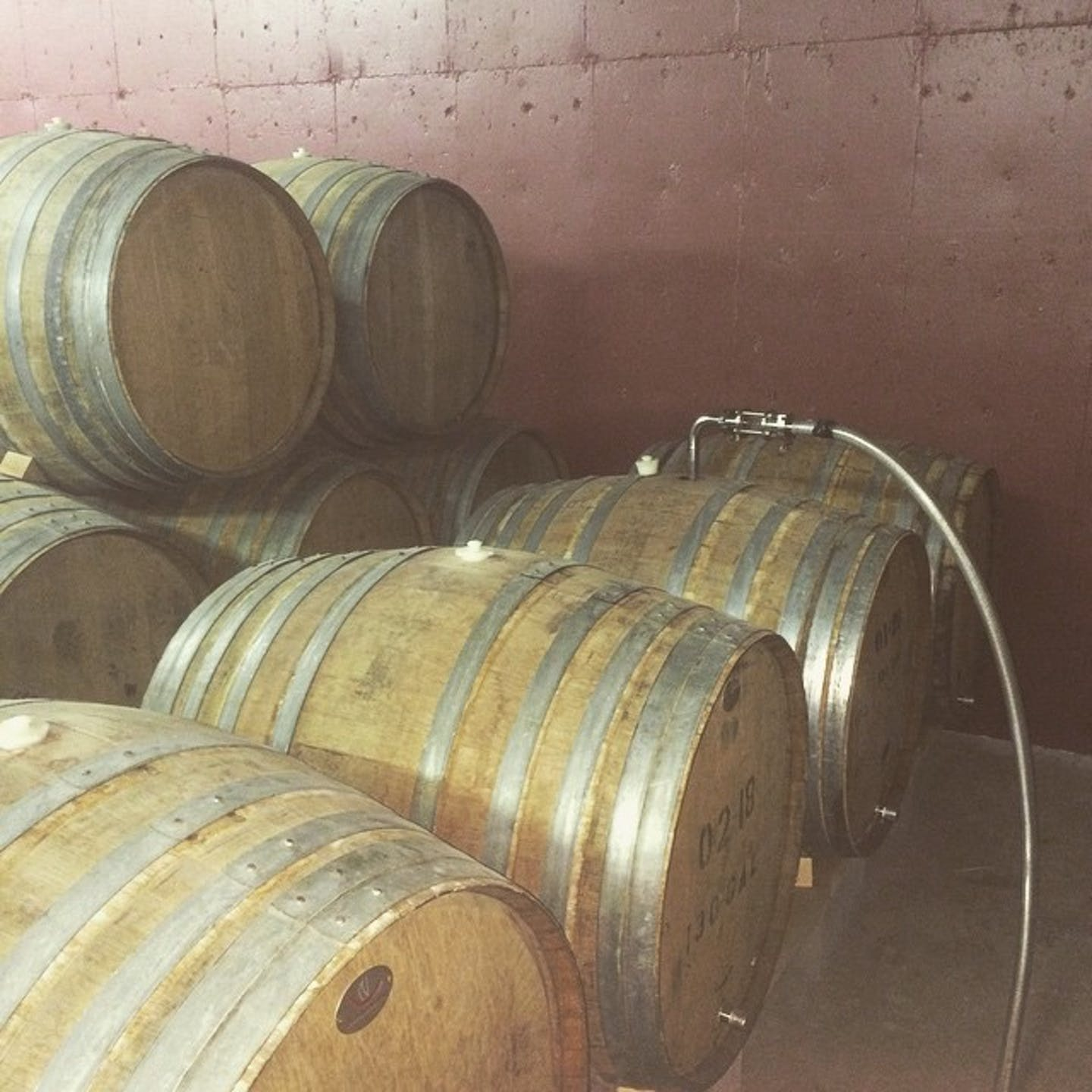 Process - Filling Barrels