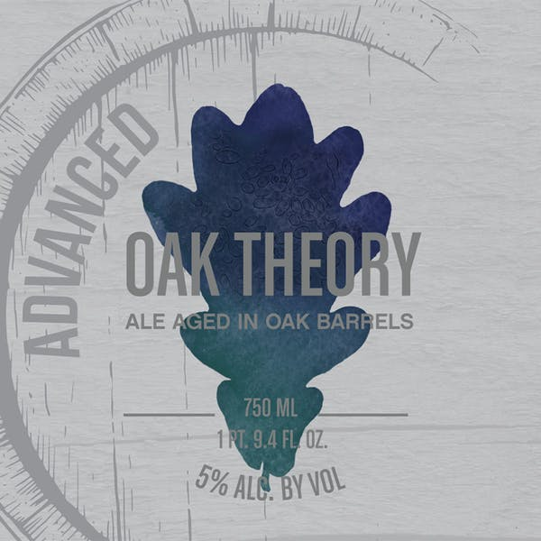 Advanced Oak Theory, sour Belhium-style beer by Casey Brewing and Blending in Glenwood Springs, CO