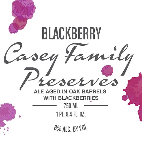 Label - Blackberry Casey Family Preserves