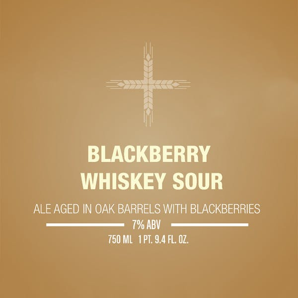 Label - Blackberry Whiskey Sour