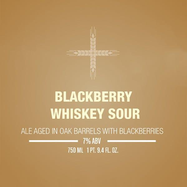 Blackberry Whiskey Sour