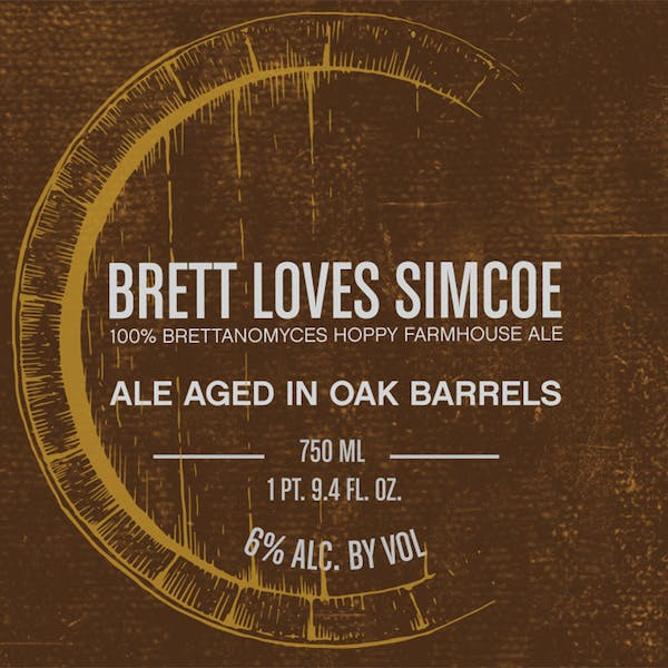 Label - Brett Loves Simcoe