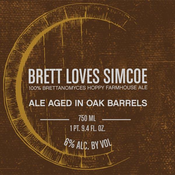 Label - Brett Loves Simcoe