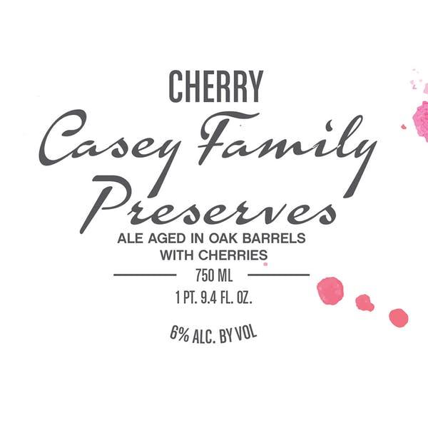 Label - Cherry Casey Family Preserves