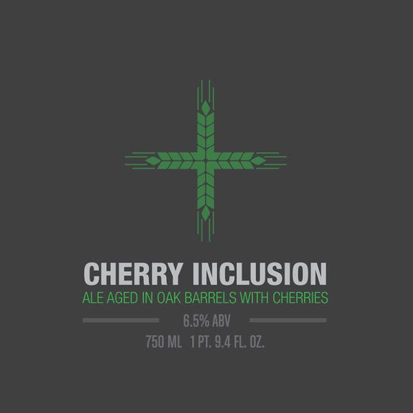 Label - Cherry Inclusion