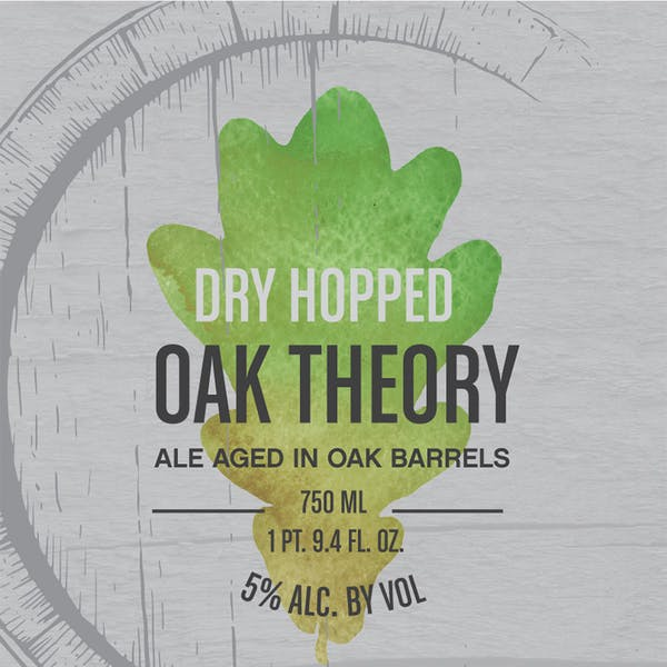 Label - Dry Hopped Oak Theory