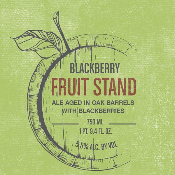 Label - Fruit Stand Blackberry